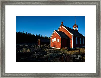 Sunday Morning Coming Down Framed Print by Jim Garrison
