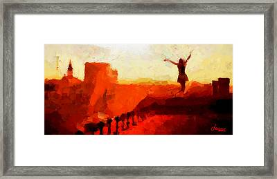 Sunday Morning Euphoria Tnm Framed Print