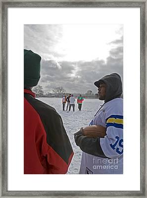 Sunday Morning Football Framed Print