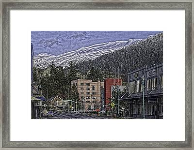 Sunday Morning In Ketchikan Framed Print