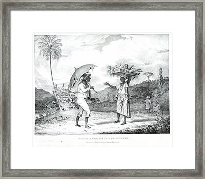 Sunday Morning In The Country Framed Print