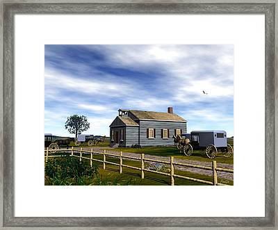 Sunday Morning Framed Print by John Pangia