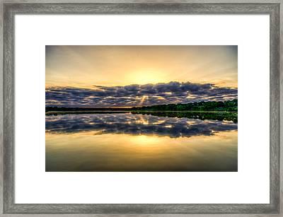 Sunday Morning On The Brushy Framed Print by Jeffrey W Spencer
