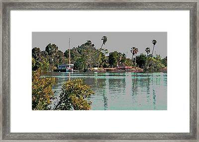 Sunday On The Delta Framed Print by Joseph Coulombe