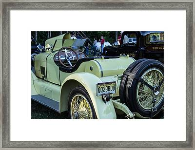 Sunday Rides Framed Print