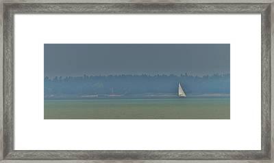 Sunday Sailing  Framed Print by Daniel Thompson
