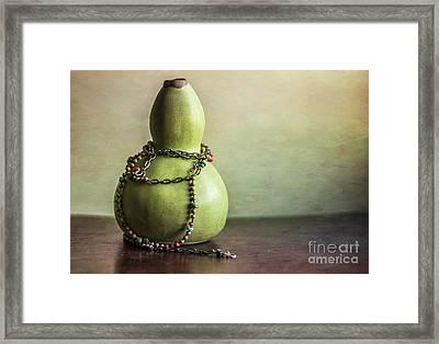 Sunday Still Life Framed Print by Terry Rowe