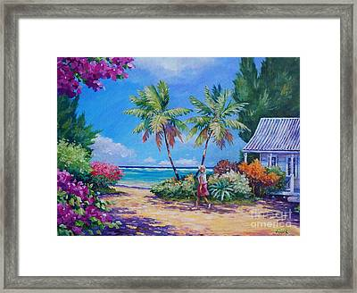 Sunday Stroll Framed Print by John Clark