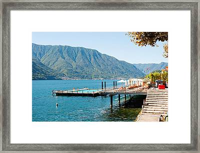 Sundeck And Floating Pool At Grand Framed Print by Panoramic Images