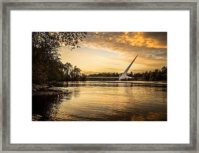Sundial - 6 Framed Print by Randy Wood