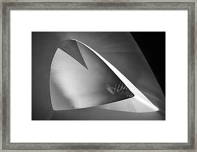 Sundial Bridge Bw 1 Framed Print