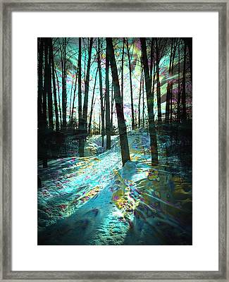 Sundog Reflections Framed Print