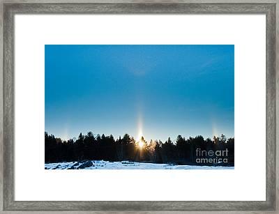 Sundog Spectacular Framed Print