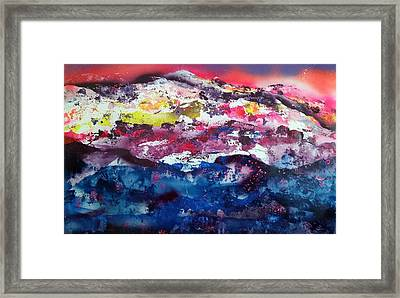 Sundown At Sundance Framed Print