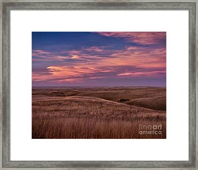 Sundown Enchantment Framed Print by Royce Howland