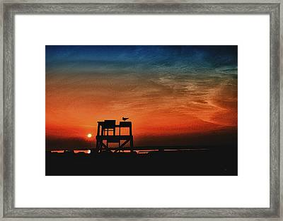 Sundown Framed Print by Gerlinde Keating - Galleria GK Keating Associates Inc