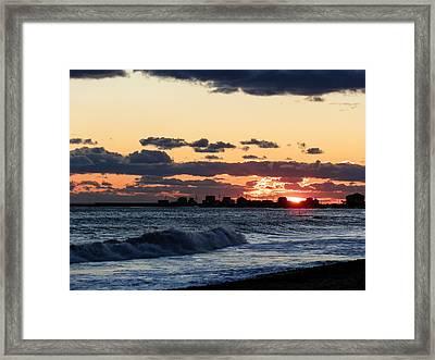 Sundown Framed Print by Heather Sylvia