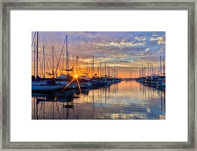 Sundown Framed Print by Heidi Smith