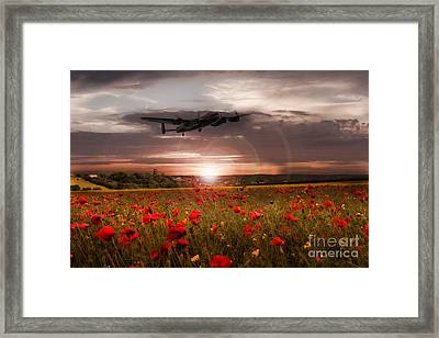 Sundown Framed Print by J Biggadike
