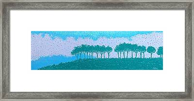 Sundown Framed Print by Lisa Bates