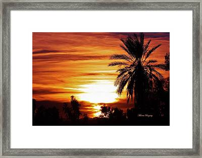 Sundown Framed Print