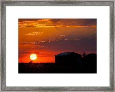 Sundown Framed Print by Mark Alder