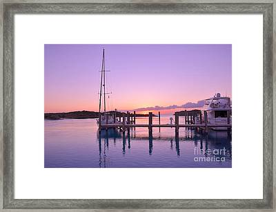 Sundown Serenity Framed Print by Jola Martysz