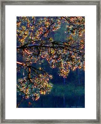 Framed Print featuring the photograph Sundrops by Leena Pekkalainen