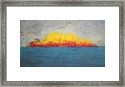 Sunfire Framed Print