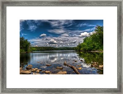 Sunfish Pond Framed Print