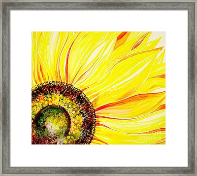 Sunflower Day Framed Print