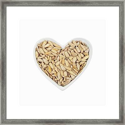 Sunflower Seeds Framed Print by Geoff Kidd