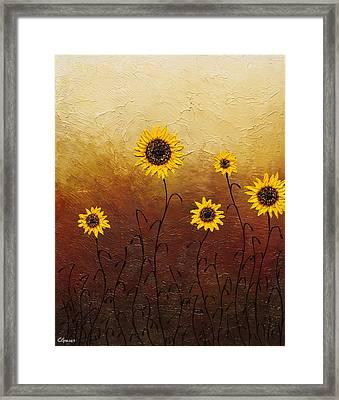 Sunflowers 1 Framed Print