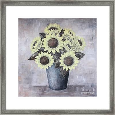 Sunflowers Framed Print by Home Art