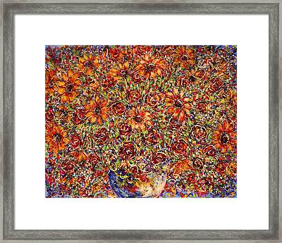 Sunflowers  Framed Print by Natalie Holland