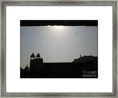 Sunfort Framed Print by Ankit Garg