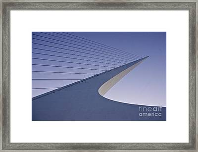 Sundial Bridge Framed Print by Sean Griffin