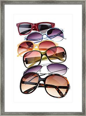 Sunglasses Framed Print by Elena Elisseeva