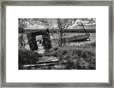 Sunken Dreams Framed Print by Jason Politte