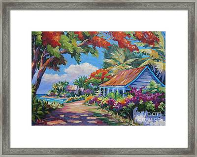 Sunlight And Shade Framed Print by John Clark