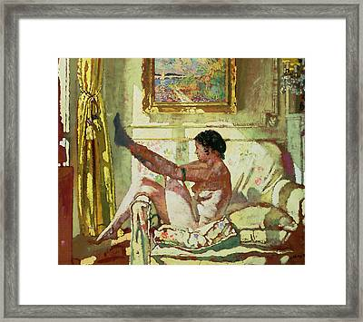 Sunlight Framed Print by Sir William Orpen