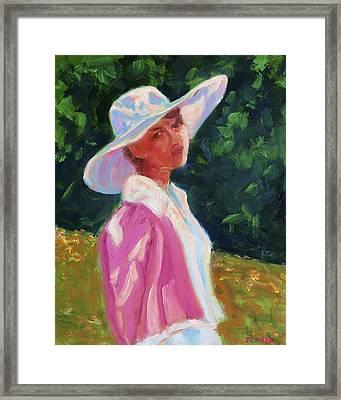 Sunlight Framed Print by Vernon Reinike