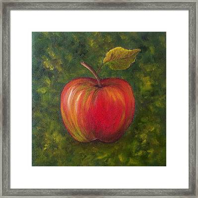 Sunlit Apple Sold Framed Print