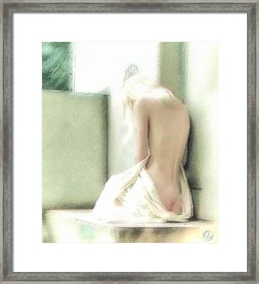 Sunlit Framed Print by Gun Legler