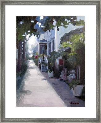 Sunlit Savannah Framed Print