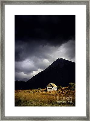 Abandoned Shack Framed Print by Craig B