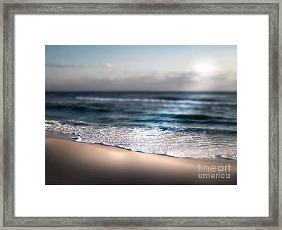 Sunlit Shore Framed Print by Jeffery Fagan
