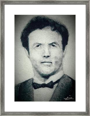Sunni Corleone Framed Print