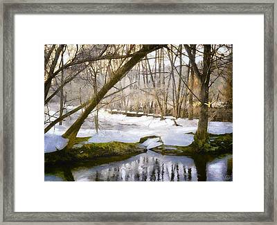 Sunny But So Cold Framed Print