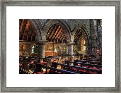 Sunny Church Framed Print by Ian Mitchell